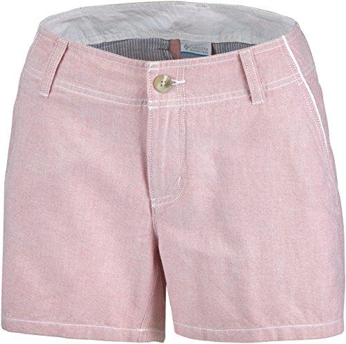 Columbia Außerhalb Summit Damen Shorts, Damen, Außerhalb Summit Femme, Damen, AL1842, Korallenrot, FR : 40 (Taille Fabricant : 8)