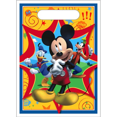 Mickey Mouse 'Fun and Friends' Favor Bags (8ct)