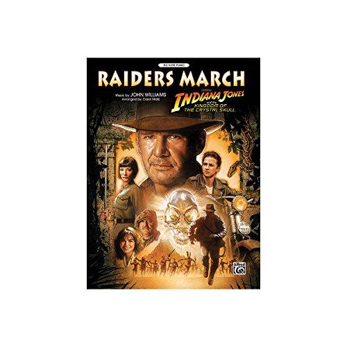 Alfred 00-31384 Raiders March-de Indiana Jones y el Reino de la Calavera de Cristal - Music Book