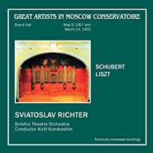 Schubert, Liszt - Sviatoslav Richter, piano / Greatest Artists in Moscow Conservatory (2CD)