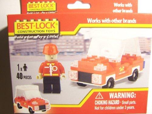 Best-Lock Construction Toys Fire 40 piece set