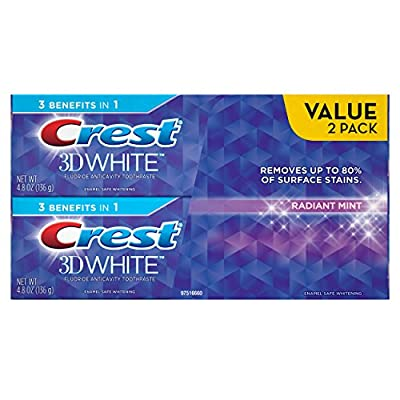 Crest 3D White Radiant Mint Whitening Toothpaste