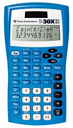 Texas Instruments TI-30XIIS Scientific Calculator, Blue