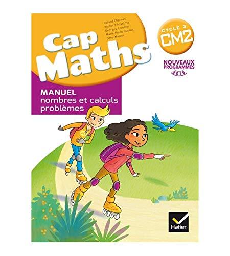 Cap Maths CM2 ED. 2017 – boek met cijfers en berekeningen + Dico Maths cm