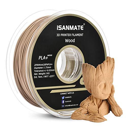 iSANMATE Real Wood PLA 3D Printer Filament