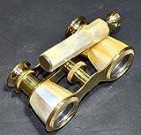 Sabri Home Gifts - Prismáticos de latón macizo, estilo náutico antiguo, estilo vintage, binoculares