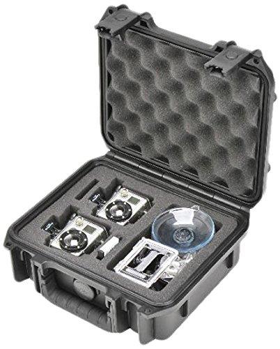 SKB 3I0907-4-012 spuitgegoten waterdichte transportkoffer voor GoPro-camera (verpakking van 2)