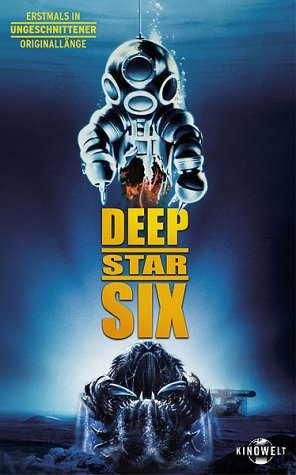 Deep Star Six [VHS]