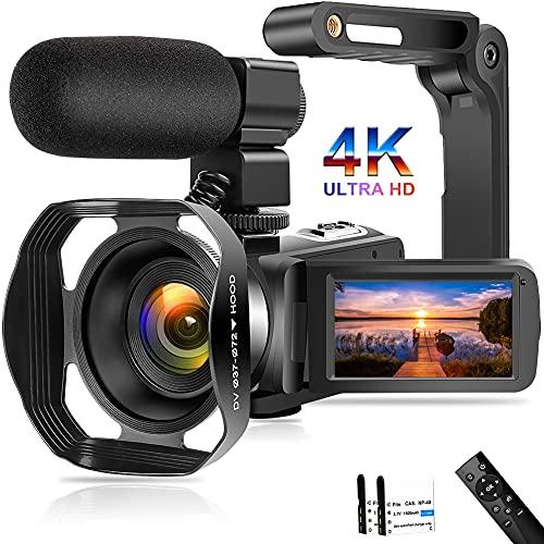 Videokamera 4K Camcorder 48MP WiFi...