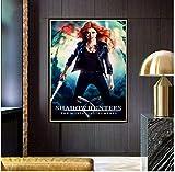 Cazadores de Sombras, Cubierta de película, los Instrumentos mortales, póster artístico de Pared, Obra de Arte Impresa en Lienzo, 50x70 cm, sin Marco