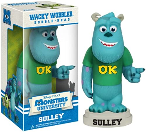 [UK-Import]Monsters University - Sulley Wacky Wobbler Bobble Head
