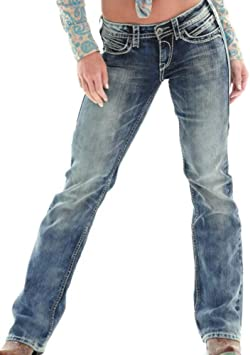 Mujer Rectos Vaqueros Anchos Push Up Boyfriend Jeans Retro Rotos Elasticos Pantalones Amazon Es Deportes Y Aire Libre