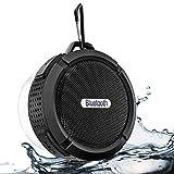2019 Neuf Haut-Parleur Bluetooth Portable, Haut-Parleur Bluetooth étanche avec Lecture 6h, Son Puissant HD, Ventouse et...