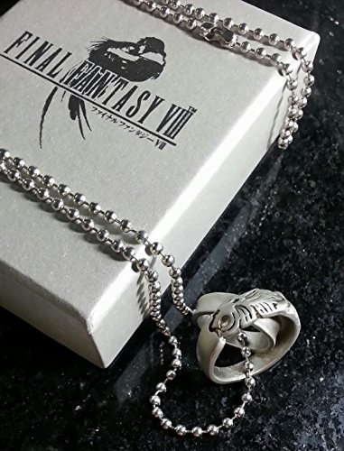Final Fantasy VIII Rinoa Halskette & Squall Griever Ring | FF8 Necklace Kostüm Cosplay Dissidia Cloud Sephiroth XV 15
