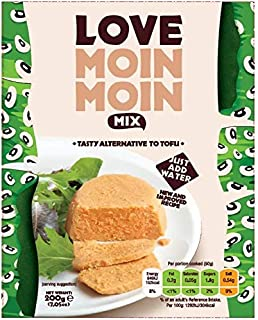 Love Moin Moin Mix - 3x200g Schwarzäugiges Bohnenmehl, sojafreie Tofu-Alternative
