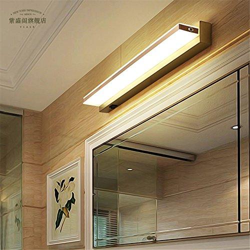YU-K Chambre Simple Vintage wall lamp creative living salle à manger chambre allée feux led feux de mur de façade miroir cuivre lampe applique murale salle de bains miroir miroir commode lampe murale wall lamp lampe de chevet (70cm)