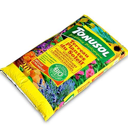 Tonusol Terreau enrichi spécial Agrumes et Plantes du Soleil. UAB 20 litres