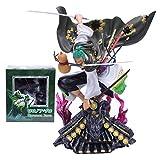 Wild HZ One Piece Kimono Roronoa Zoro Figura di Azione del Modello E Il Paese di Tremila Mondo Raccolta Statua Colore Boxed 30 Centimetri