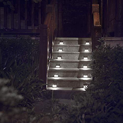 XLUX Outdoor Solar Deck Step Lights