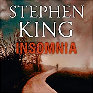 Insomnia                   By:                                                                                                                                 Stephen King                               Narrated by:                                                                                                                                 Eli Wallach                      Length: 25 hrs and 39 mins     434 ratings     Overall 4.0