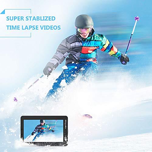 VanTop 4K Action Cam mit Touchscreen, 20MP WiFi Ultra HD wasserdichte Action Kamera, 30m Unterwasserkamera, mit 32 GB TF Karte, 2 Batterien und Zubehör kits - 4