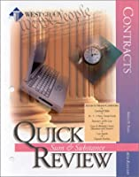 Contracts Sixth Edition Quick Review (Sum & Substance Quick Review) 031424283X Book Cover