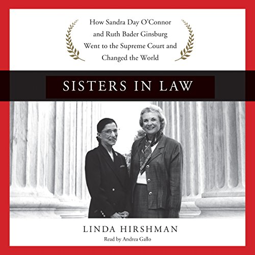 Sisters in Law audiobook cover art