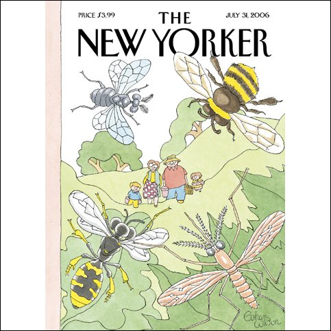 The New Yorker (July 31, 2006) audiobook cover art