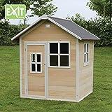 EXIT Loft 100 / Spielhäuschen mit Tür + 3 Fenstern / Material: Zedernholz / Maße: 140,5 x 149 x...