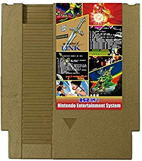 852 in 1 Forever Duo NES Games for Nintendo Gold Cartridge Multi Cart