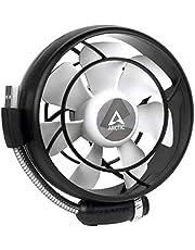 ARCTIC Summair Light Mobiele USB-ventilator voor op het bureau, tafelventilator, staande ventilator, geluidsarm geluidsniveau, 900-2100 omw/min, zwart