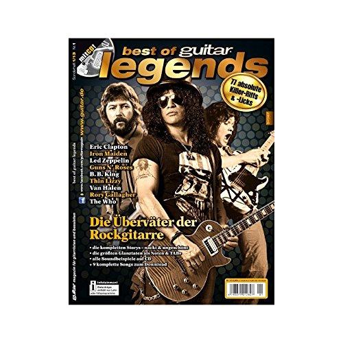 Best of guitar: Legends I - Die Überväter der Rockgitarre mit Playalong CD Riffs und Licks