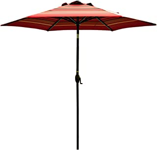 Best gray and white striped patio umbrella Reviews