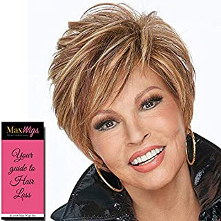 On Your Game Wig Color RL19/23SS SHADED BISCUIT - Raquel Welch Wigs 12