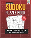 Hard Sudoku Puzzle Book: 432 Challenging Sudoku Puzzles for Adults (Hard Sudoku Series)