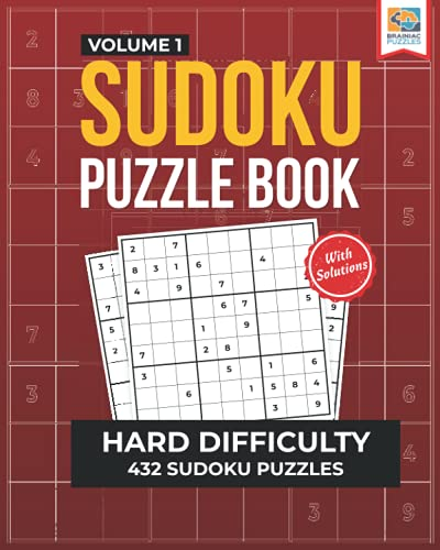 Compare Textbook Prices for Hard Sudoku Puzzle Book: 432 Challenging Sudoku Puzzles for Adults Hard Sudoku Series  ISBN 9781956652093 by Snider, Stan