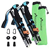 Best Hiking Poles - Aneagle Paceleader Collapsible Trekking Poles - 2pcs Pack Review