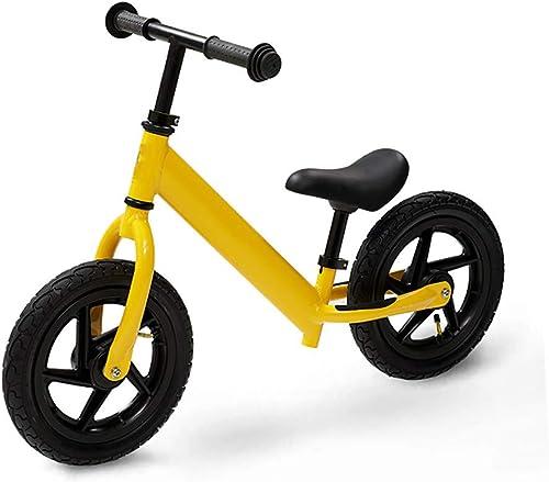 precios bajos todos los dias WHTBOX Equilibrio De La Bici Bicicleta de de de Equilibrio De Entrenamiento,Deporte,Bebé,Base Oscilante,Ligero,Manillar Ajustable,Niño de 2 A 6 años,amarillo  disfrutando de sus compras