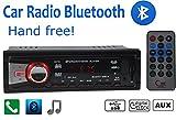 Car Stereo Bluetooth Radio In-dash Head Unit Player FM MP3/USB/SD/AUX for iPod
