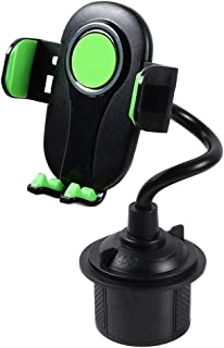 Hanzou Car Cup Holder Bracket Adjustable Mobile Phone Stand Mount for Smart Phones