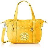 Kipling - Art Nc, Bolsos maletín Mujer, Amarillo (Lively Yellow), 20x44x27 cm (B x H T)