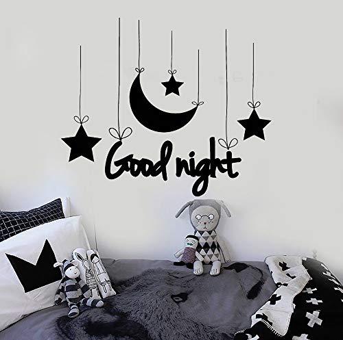 Gute Nacht Wort wandaufkleber Dekoration Baby Kindergarten Vinyl wandtattoo Schlafzimmer...