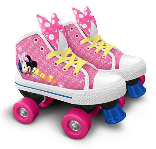 Stamp JQ200034 Patines Quad Roller, Girls, Rose, 34