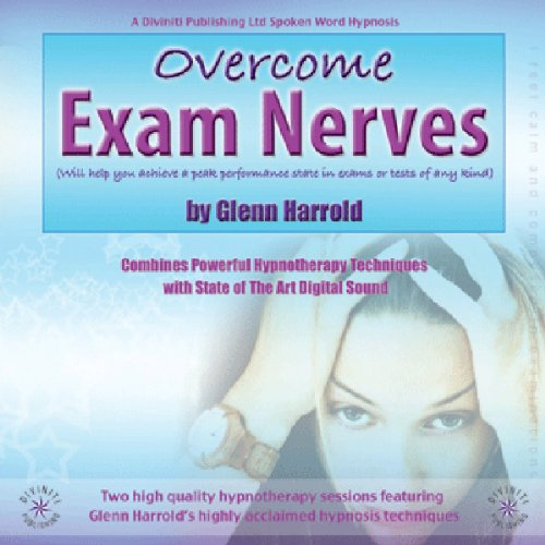 Overcome Exam Nerves audiobook cover art