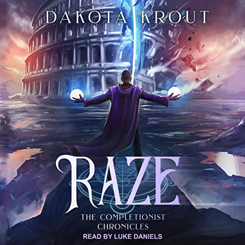Raze audiobook cover art