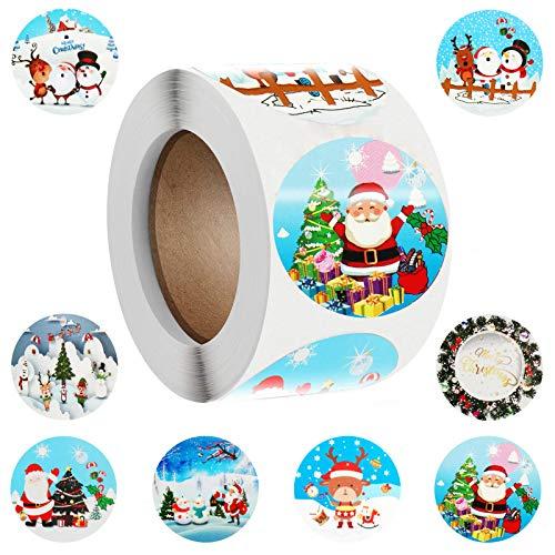 Pegatina Feliz Navidad Galletas Marca FLYFLY