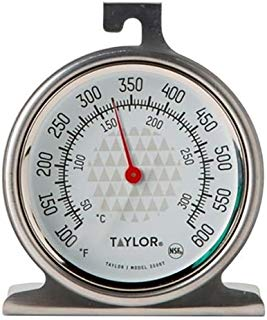 "Taylor Precision Products 3506FS Trutemp 2.5"" Oven Dial Thermometer"