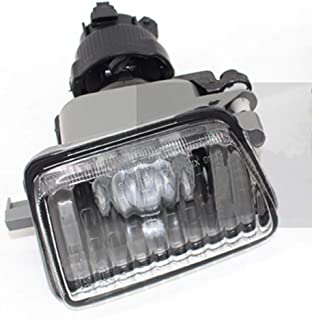 For VW GOLF II/Jetta MK2 1985~1992 Auto Fog Lamp Clear Car Front Bumper Grille Driving Fog Lights With Bulb 191941699 (Driver Side)
