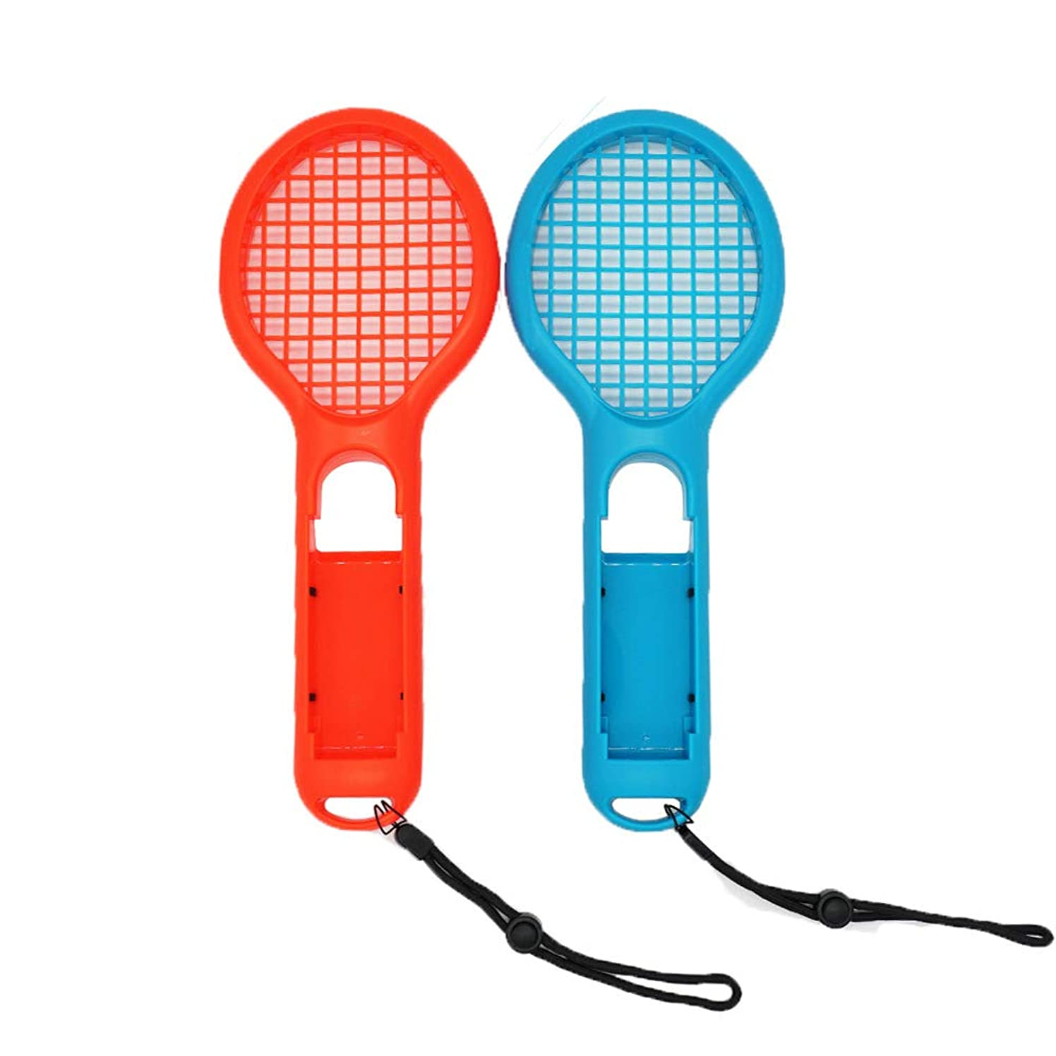 WINGONEER? Tennis Racket for Nintendo Switch Joy-Con Controller Twin Pack Tennis Racket for Nintendo Switch Game Mario Tennis Aces