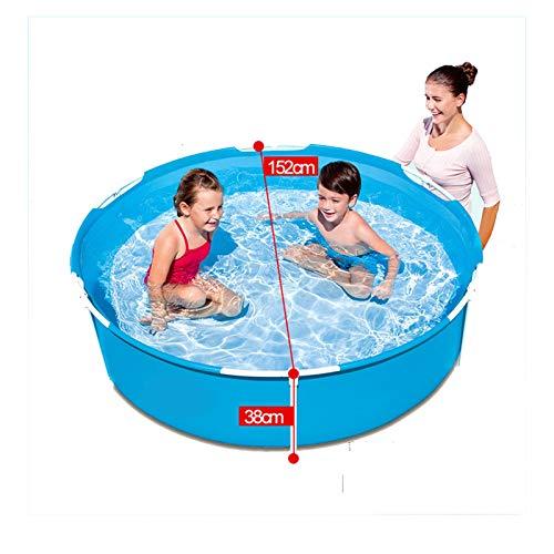 Piscinas de 14 pies x 42 pulgadas, Active sobre el suelo, piscina enorme, marco de metal, juego de instalación de piscina para patio trasero al aire libre con escalera de bomba de filtro y cubierta de